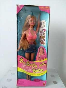 Barbie Butterfly Art