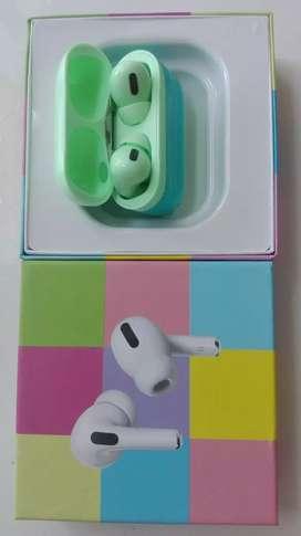 Audifonos airpods pro inalámbrico Bluetooth. Botón tactil