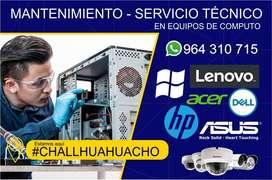 MANTENIMIENTO Y DE COMPUTADORAS LAPTOP Y PC