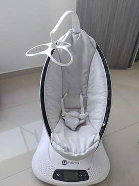 Silla mecedora eléctrica para bebés 4moms, Mamaroo