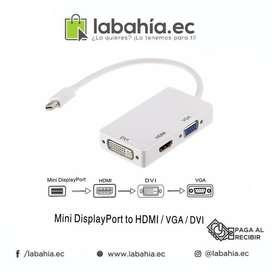 CABLE MINI DISPLAY PORT DVI THUNDERBOLT a HDMI HEMBRA