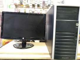 Computadores de escritorio marca hp y samsung