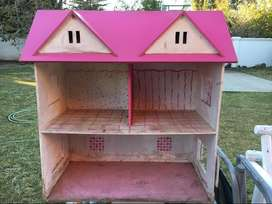 Casita de Barbie. Poco Uso