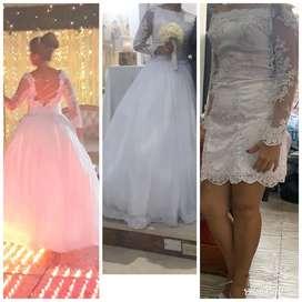 Se vende hermoso vestido de matrimonio