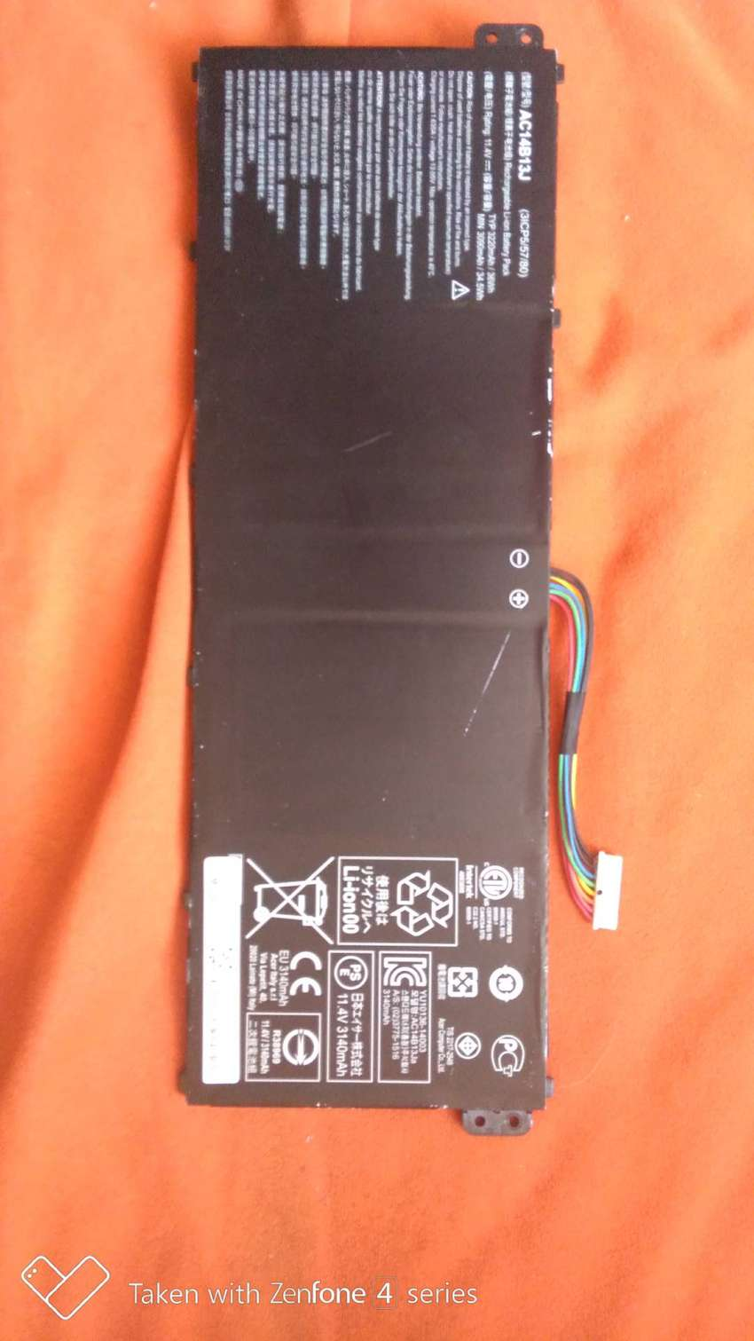 Bateria de portatil acer