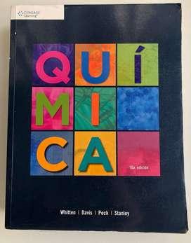 Libro Química (10ma edición) - Whitten, Davis, Peck & Stanley