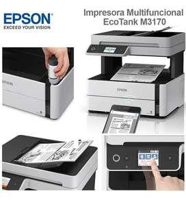 IMPRESORA EPSON ECO TANK M3170