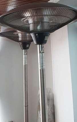 Calentador EXT.  X2 unidades. 1.95cm