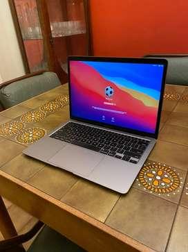 Notebook Macbook Air 2020 Retina 13.3 256gb SSD - Ideal trabajo o tareas de ofimatica - Como nueva, 6 meses de uso