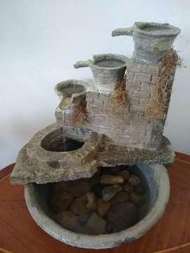 Agua fuente de agua - condición- nueva
