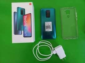 Vendo Xiaomi Redmi Note 9 de 128 Gigas