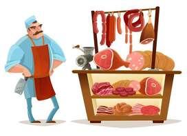 Se busca un chic@ que maneje el conocimiento de carnes