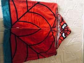 Toalla de niño Spiderman, Excelente estado