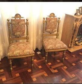 sillas decorativas