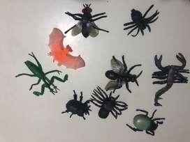 Insectos de goma