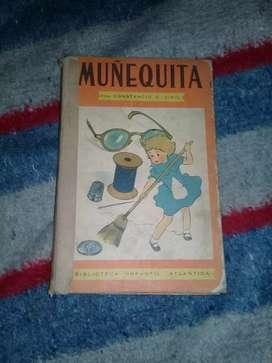 Libro muñequita retro