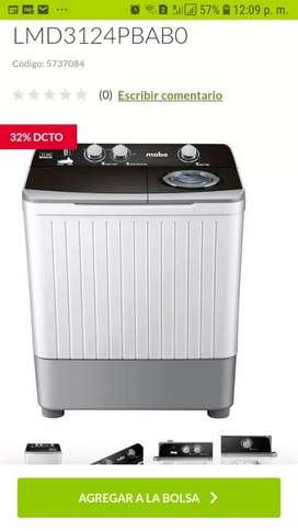 Se vende lavadora casi nueva
