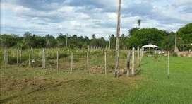 Vendo terreno en san cosme