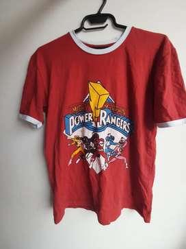 Camiseta Power Rangers Unisex