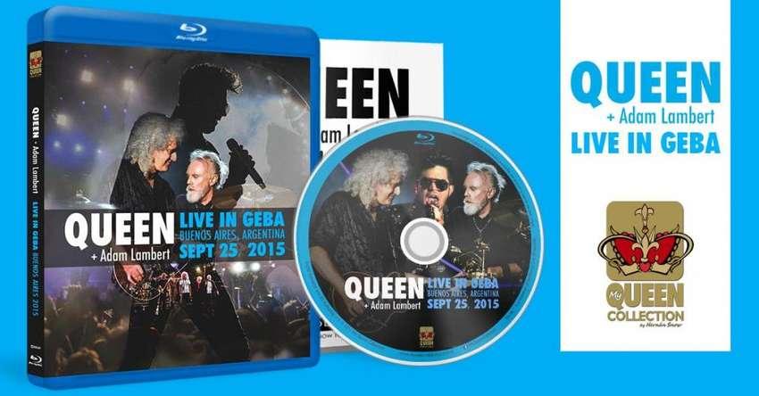 Queen Adam Lambert Live in GEBA 2015 Blu-Ray