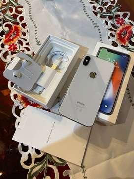 iPhone X 64 Gb Blanco/plata