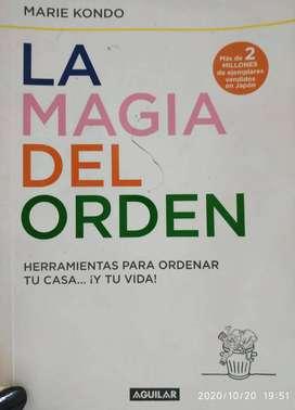 Libro Marie Kondo/Luis Ventura/ Sidney Sheldon