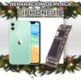 ¡Reparación de Placa de Iphone 11!