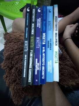 Vendo libros de wigetta