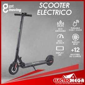 Nuevo Scooter Electrico Get Moving 20km De Autonomía