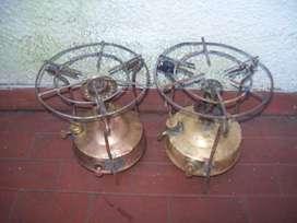 Calentadores, para decoracion o antiguedad, mas de 100 años de viejos