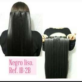 Extensiones de cabello seminaturales