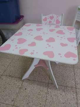 Vendo mesa ycon 2 sillas