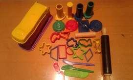 Set de formas y cortantes para masa Play Doh