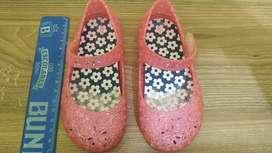 Zapatos de niña americanos .