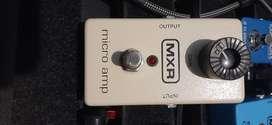 MXR MICRO AMP - EFECTO ANALOGO DE GUITARRA