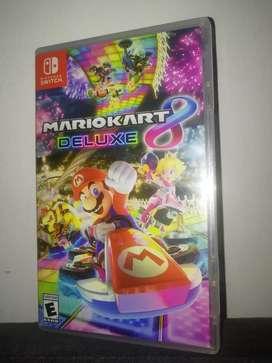 Videojuego Mario Kart 8 Deluxe para Nintendo Switch