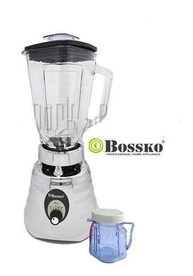 Licuadora clásica Bossko BK-1707 de 650 Watts 3V - Silver
