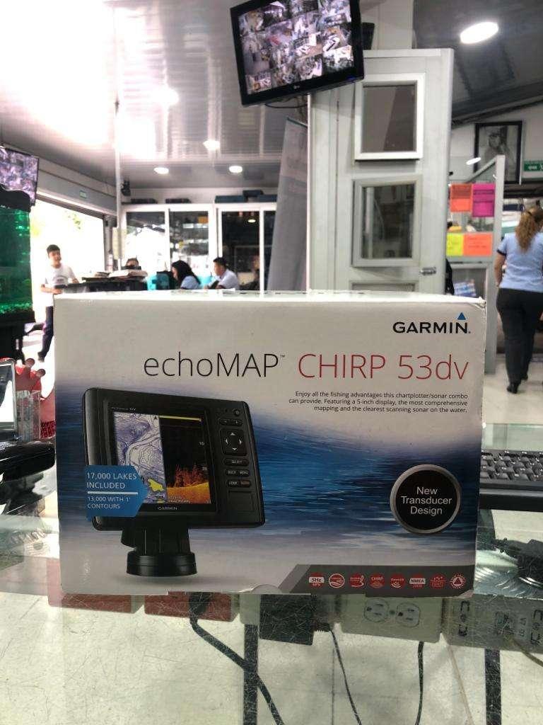 GARMIN echoMAP CHIRP 53dv 0