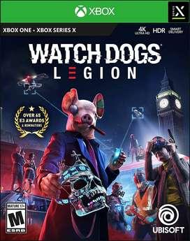 Watch Dogs Legion (xbox One - Xbox Series X), Físico