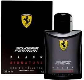 Perfume Ferrari Ferrari Black Signature 125ml Hombre Eros