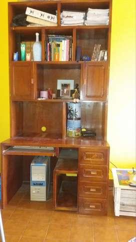 Modular de Cedro Biblioteca - escritorio