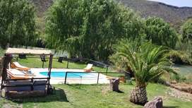 Casa quinta privada en valle grande a orillas  del río Atuel en San Rafael Mendoza