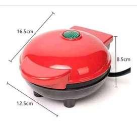 Mini waflera eléctrica Antiadherente