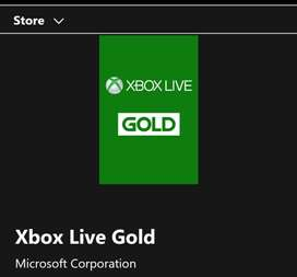Xbox Live Ultimate 3 Meses