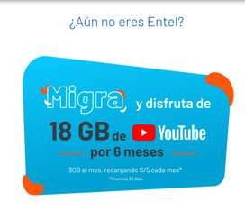 ENTEL POWER PREPAGO & POSTPAGO