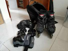 Patines semi profesionales mission 7500