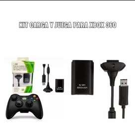 CARGA Y JUEGA PARA 360 Y XBOX
