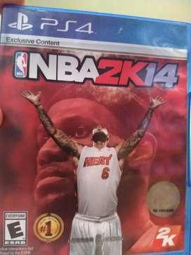 Se vende NBA 2k 14 para ps4