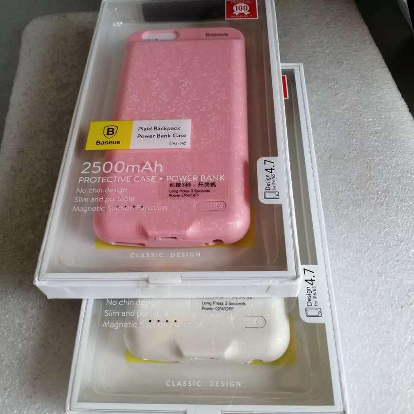 Bank Power Case Battery Charger Baseus 2500 mAh Iphone 6 o 6s.
