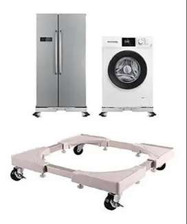 Base regulable con ruedas multiusos importado para cocina, lavadora, refrigeradora, delivery gratis